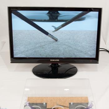 LapCamPi mit Monitor